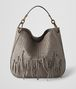 BOTTEGA VENETA STEEL INTRECCIATO BRIO LOOP BAG Hobo Bag Woman fp