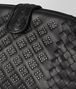 BOTTEGA VENETA POCHETTE THE LAUREN 1980 MICRO BORCHIE IN NAPPA NERO Pochette Donna ep