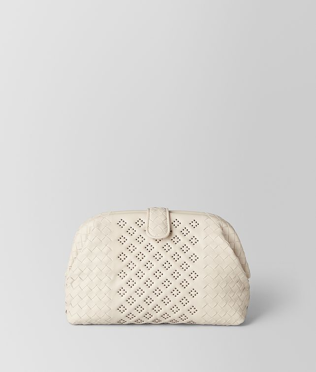 BOTTEGA VENETA MIST NAPPA MICROSTUDS THE LAUREN 1980 Clutch [*** pickupInStoreShipping_info ***] fp