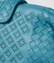 BOTTEGA VENETA AQUA NAPPA MICROSTUDS THE LAUREN 1980 Clutch Woman ep