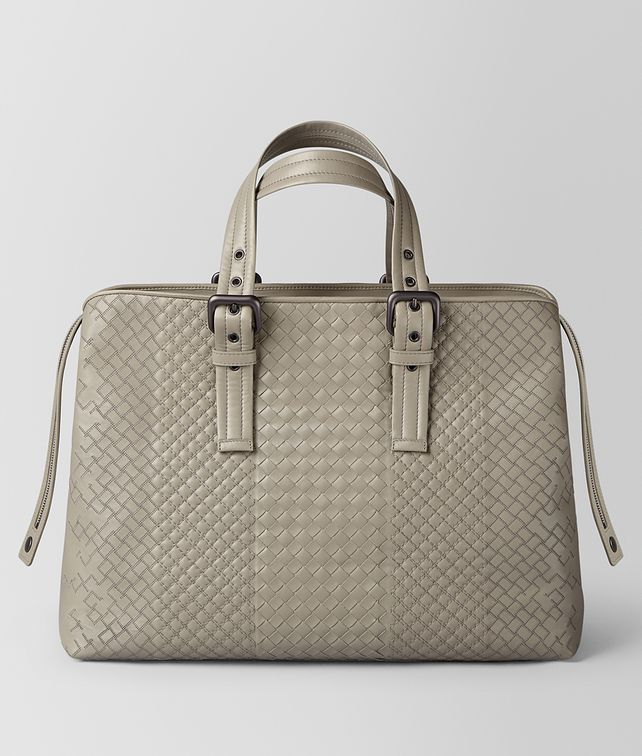 BOTTEGA VENETA DARK CEMENT INTRECCIATO AURELIO CALF TOTE Tote Bag [*** pickupInStoreShippingNotGuaranteed_info ***] fp