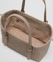 BOTTEGA VENETA SHOPPER IN INTRECCIATO NAPPA LIMESTONE Borsa Shopping Donna dp