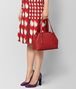 BOTTEGA VENETA CHINA RED INTRECCIATO NAPPA TOTE Tote Bag Woman ap
