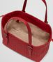 BOTTEGA VENETA CHINA RED INTRECCIATO NAPPA TOTE Tote Bag Woman dp