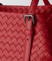 BOTTEGA VENETA CHINA RED INTRECCIATO NAPPA TOTE Tote Bag Woman ep
