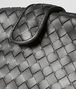 BOTTEGA VENETA ANTIQUE SILVER INTRECCIATO NAPPA THE LAUREN 1980 Clutch Woman ep