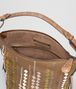 BOTTEGA VENETA CAMEL INTRECCIATO AYERS OSAKA BAG Shoulder Bag Woman dp