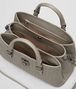 BOTTEGA VENETA DARK CEMENT INTRECCIATO CALF ROMA BAG Top Handle Bag Woman dp