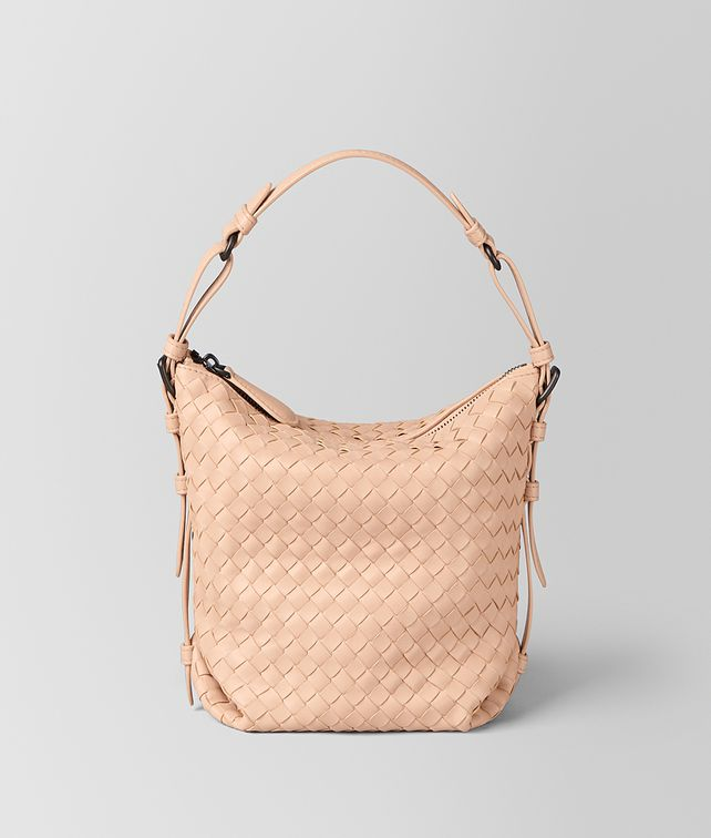 BOTTEGA VENETA PEACH ROSE INTRECCIATO NAPPA OSAKA BAG Shoulder Bag Woman fp