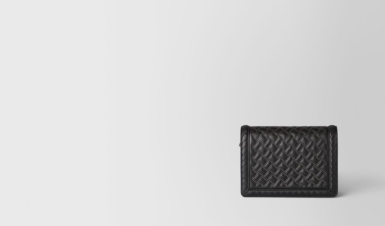 nero nappa microstuds mini montebello bag landing