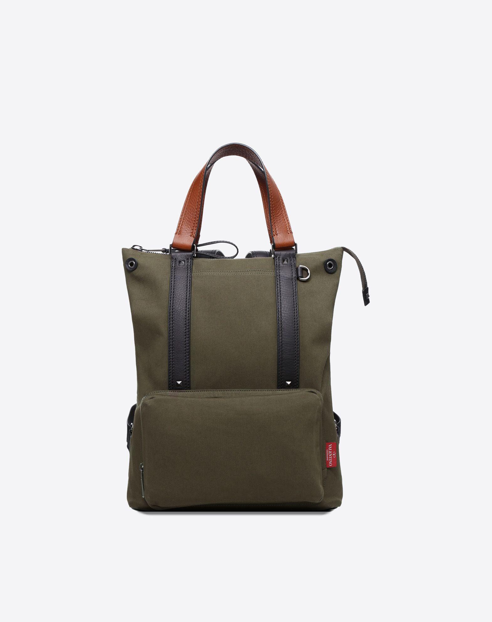 VALENTINO Solid color Zip External pocket  45408159kb