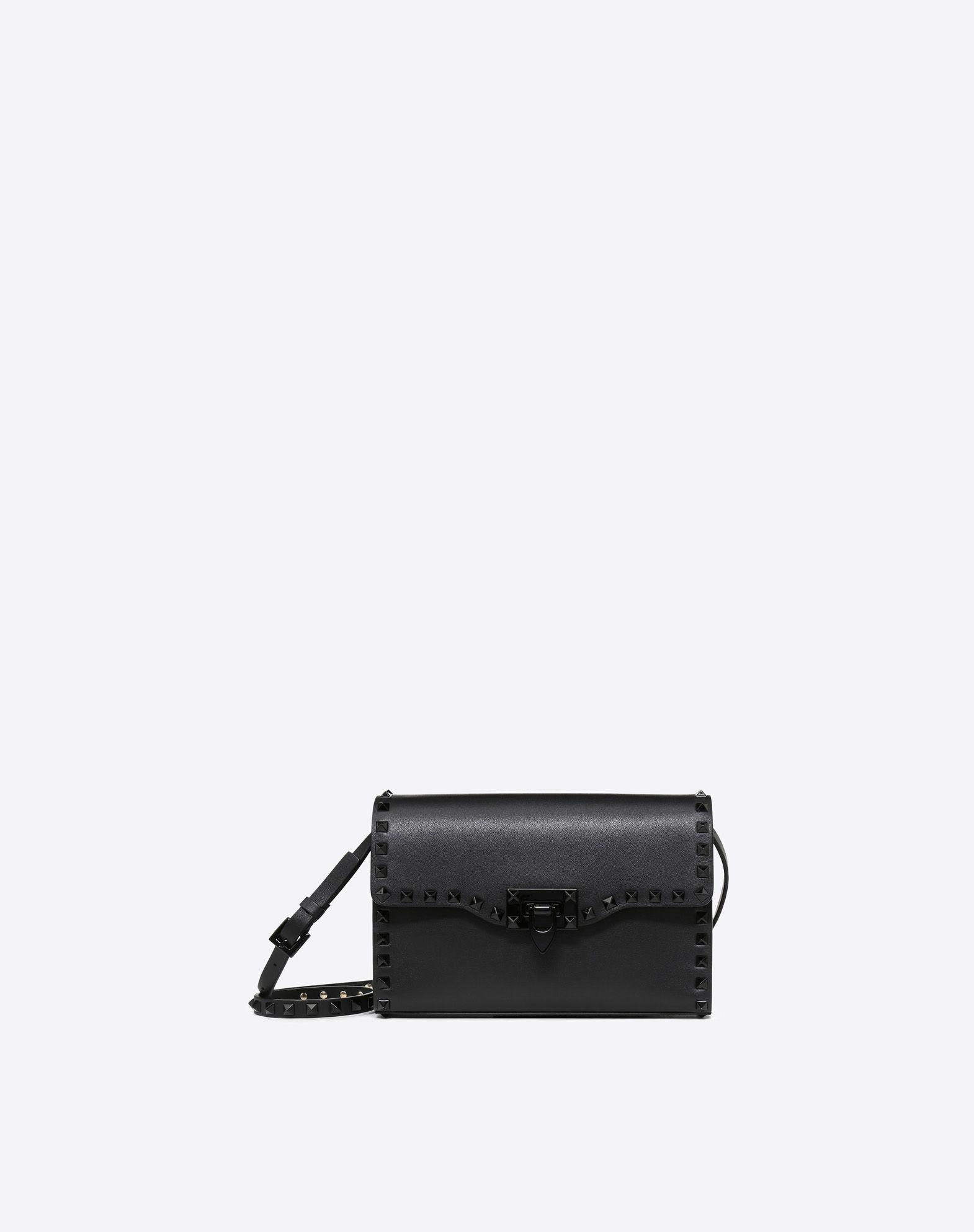 VALENTINO GARAVANI Small Rockstud Cross-body Bag CROSS BODY BAG D f