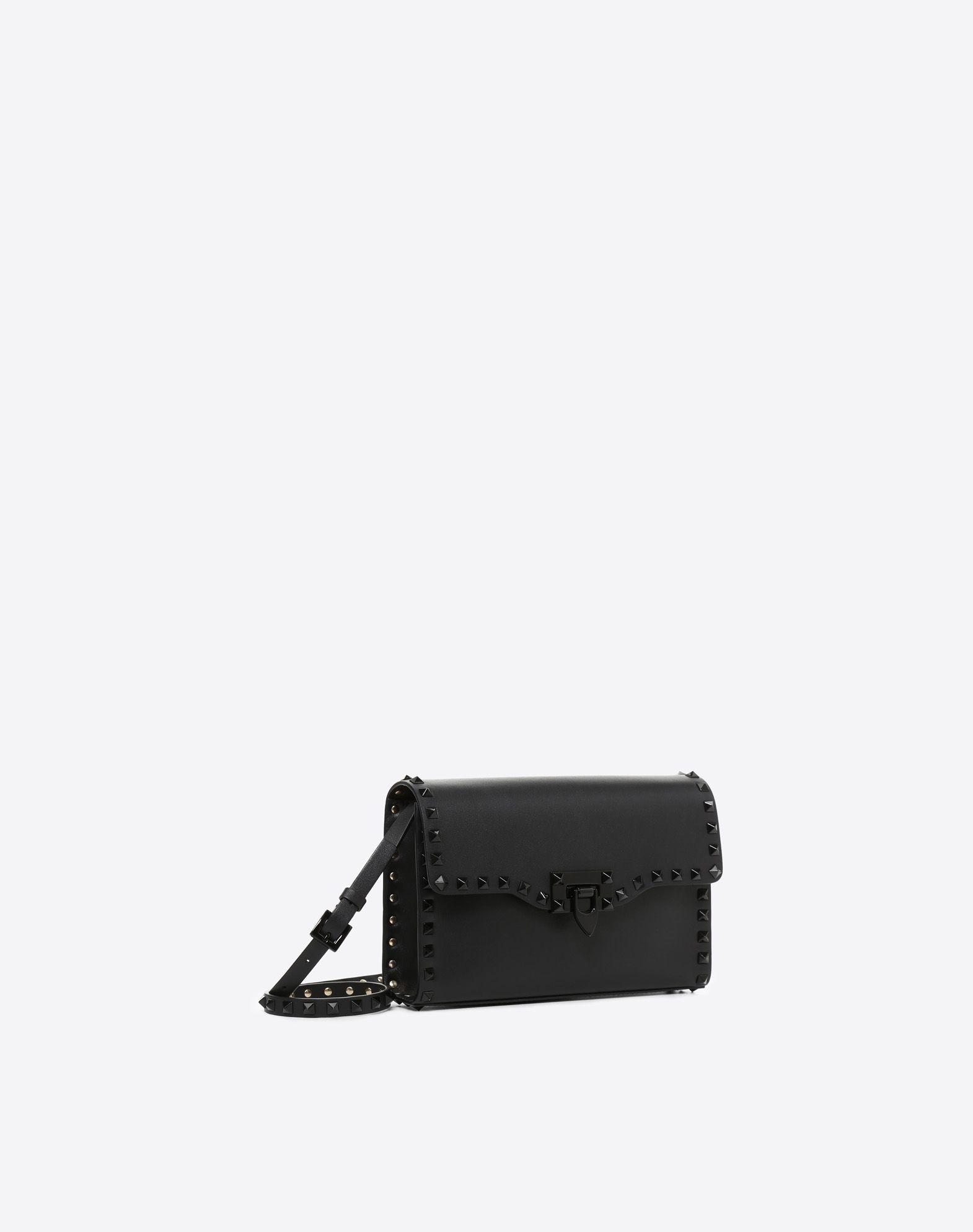 VALENTINO GARAVANI Small Rockstud Cross-body Bag CROSS BODY BAG D r