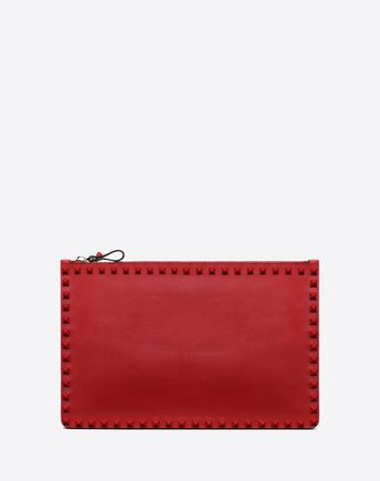 VALENTINO GARAVANI POUCHES WITH CHAIN D Rockstud Pouch with chain f