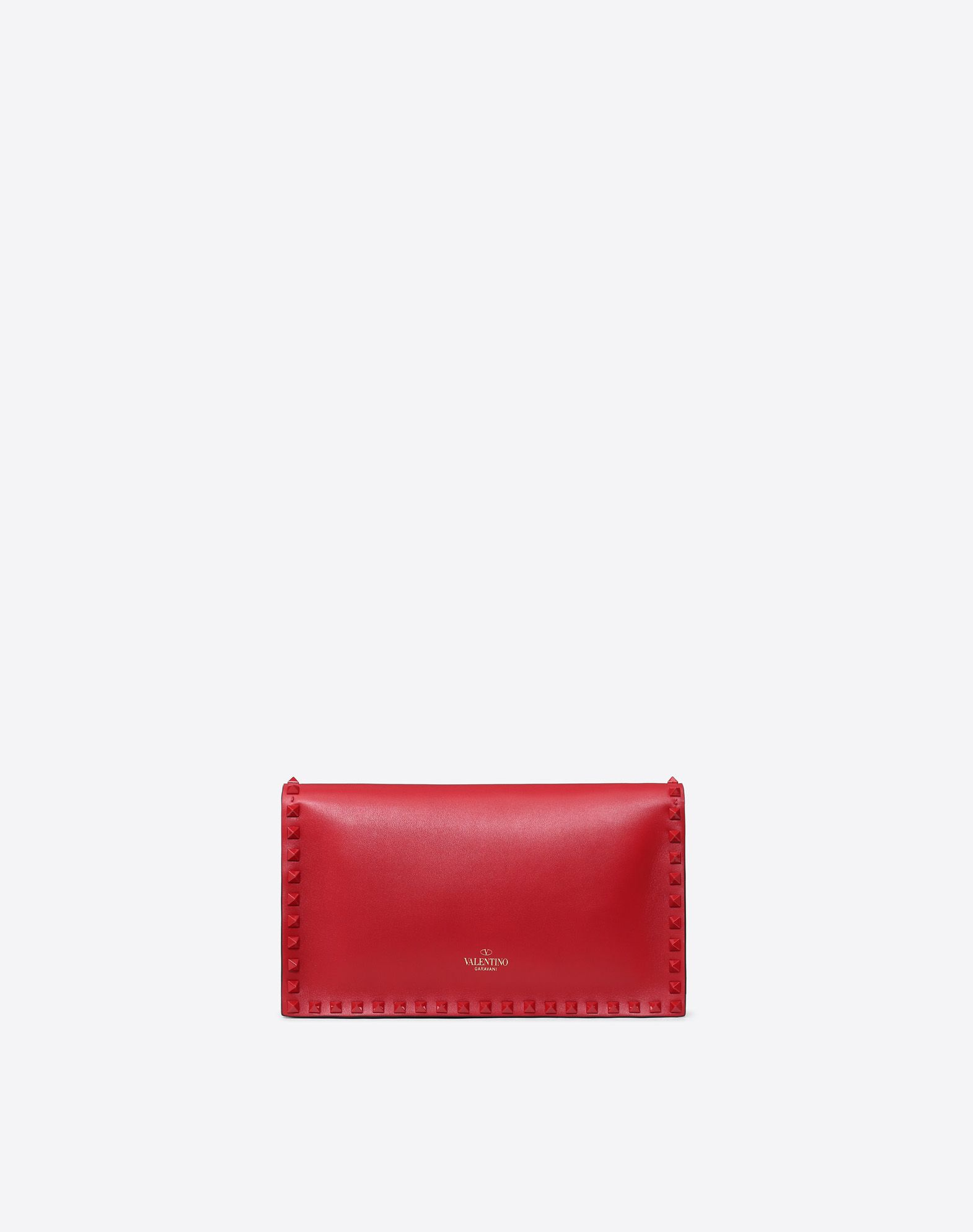 VALENTINO Studs Logo Solid colour Snap button closure  45408315lk