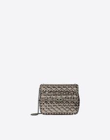 VALENTINO GARAVANI Shoulder bag D Medium Rockstud Spike Chain Bag f