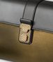 BOTTEGA VENETA DARK GOLD NAPPA PIAZZA BAG Top Handle Bag Woman ep