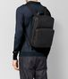 BOTTEGA VENETA NERO CERVO MEDIUM DOUBLE BRICK Backpack Man ap