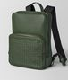 BOTTEGA VENETA FOREST CERVO MEDIUM DOUBLE BRICK Backpack Man rp