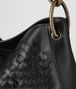 BOTTEGA VENETA NERO INTRECCIATO BRIO LOOP BAG Hobo Bag Woman ep