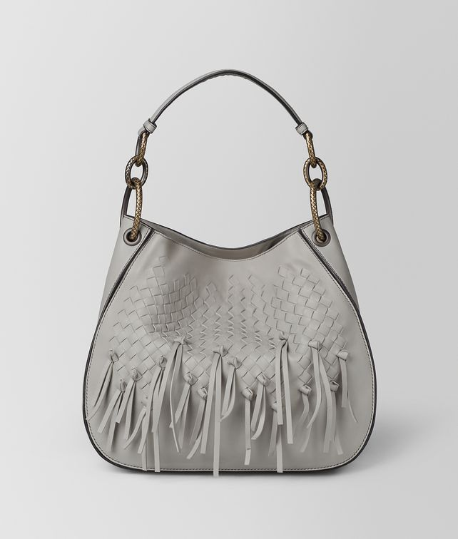 BOTTEGA VENETA CEMENT INTRECCIATO BRIO LOOP BAG Hobo Bag Woman fp