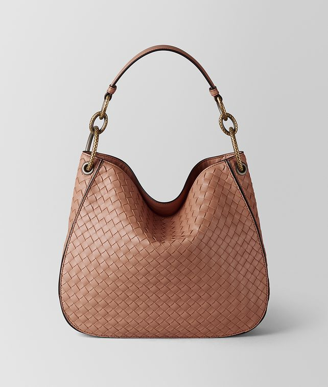 BOTTEGA VENETA DAHLIA INTRECCIATO NAPPA LOOP BAG Hobo Bag Woman fp
