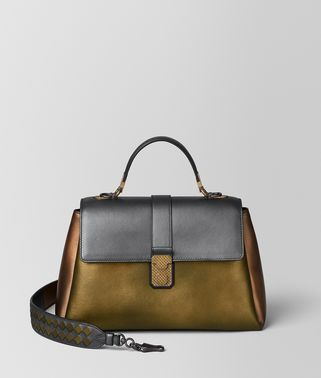 DARK GOLD NAPPA PIAZZA BAG
