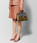 BOTTEGA VENETA DARK GOLD NAPPA PIAZZA BAG Top Handle Bag Woman ap
