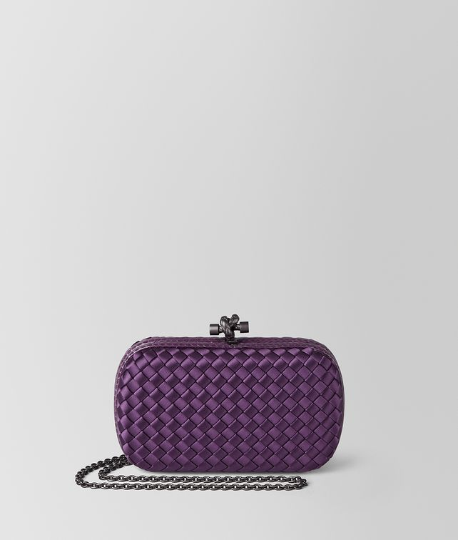 BOTTEGA VENETA MONALISA INTRECCIATO IMPERO CHAIN KNOT Clutch Woman fp