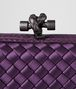 BOTTEGA VENETA MONALISA INTRECCIATO IMPERO CHAIN KNOT Clutch Woman ep