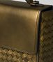 BOTTEGA VENETA DARK GOLD INTRECCIATO NAPPA ALUMNA BAG Crossbody bag Woman ep