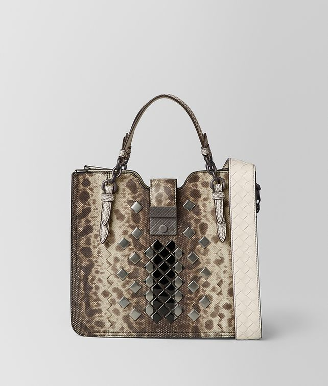 BOTTEGA VENETA MIST MOSAIC STUDS GONDOLA BAG Top Handle Bag [*** pickupInStoreShipping_info ***] fp