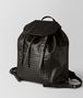 BOTTEGA VENETA MORO INTRECCIATO CALF BACKPACK Backpack Man rp