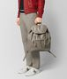 BOTTEGA VENETA DARK CEMENT INTRECCIATO CALF BACKPACK Backpack Man ap