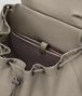BOTTEGA VENETA DARK CEMENT INTRECCIATO CALF BACKPACK Backpack Man dp