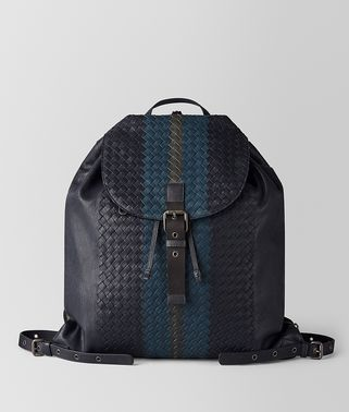 MULTICOLOR INTRECCIATO CLUB LAMB BACKPACK