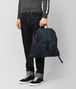 BOTTEGA VENETA MULTICOLOR INTRECCIATO CLUB LAMB BACKPACK Backpack Man lp