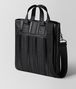 BOTTEGA VENETA NERO NAPPA TECH STRIPE TOTE Tote Bag Man rp