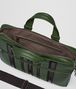 BOTTEGA VENETA FOREST/NERO NAPPA TECH STRIPE BRIEFCASE Business bag Man dp
