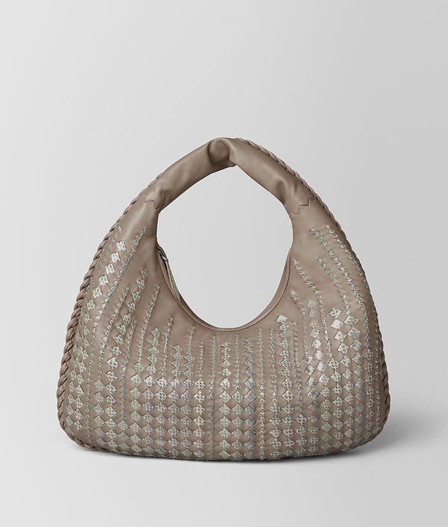 BOTTEGA VENETA LIMESTONE INTRECCIATO AYERS VENETA BAG Hobo Bag Woman fp