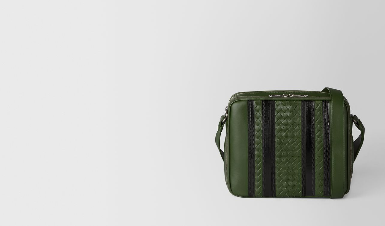 forest/nero nappa tech stripe messenger landing