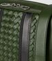 forest/nero nappa tech stripe messenger Back Detail Portrait