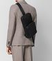 BOTTEGA VENETA NERO HI-TECH CANVAS SLING BACKPACK Backpack Man ap