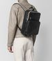 nero/mist calf intrecciato checker backpack Front Detail Portrait