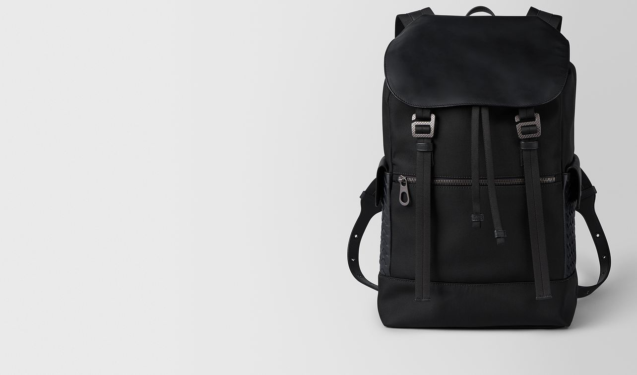 nero hi-tech canvas sassolungo backpack landing