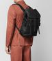 BOTTEGA VENETA NERO HI-TECH CANVAS SASSOLUNGO BACKPACK Backpack Man ap