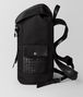 BOTTEGA VENETA NERO HI-TECH CANVAS SASSOLUNGO BACKPACK Backpack Man rp