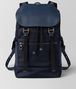 BOTTEGA VENETA TOURMALINE/PACIFIC HI-TECH CANVAS SASSOLUNGO BACKPACK Backpack Man fp