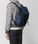BOTTEGA VENETA TOURMALINE/PACIFIC HI-TECH CANVAS SASSOLUNGO BACKPACK Backpack Man lp