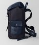 BOTTEGA VENETA TOURMALINE/PACIFIC HI-TECH CANVAS SASSOLUNGO BACKPACK Backpack Man rp